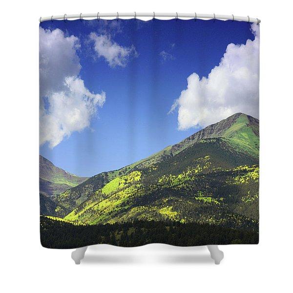 Faafallscene114 Shower Curtain