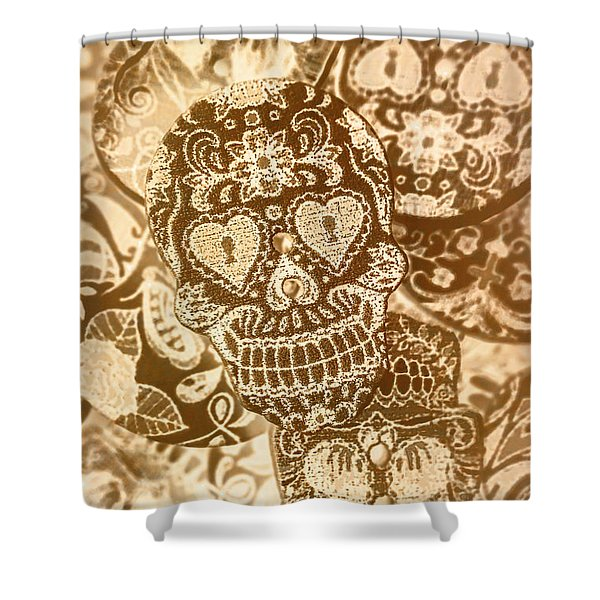 Fabric And Folklore Shower Curtain