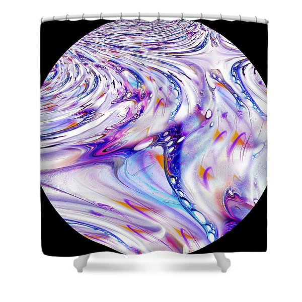 Fabric Of Reality Shower Curtain