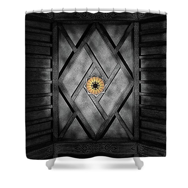 Fabulous Fox Theater Atlanta Ceiling Detail Shower Curtain