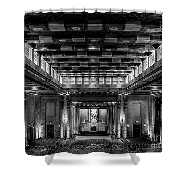 Fabulous Fox Theater Atlanta Egyptian Ballroom Shower Curtain