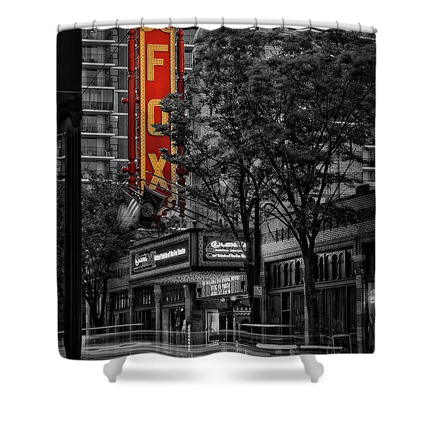 Fabulous Fox Theater Shower Curtain