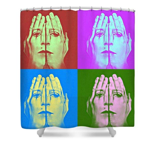 Face Art Shower Curtain