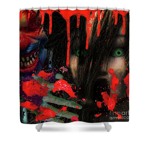 Face Your Fears Shower Curtain
