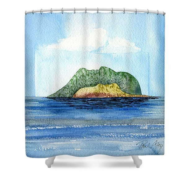Facescape 2 Shower Curtain
