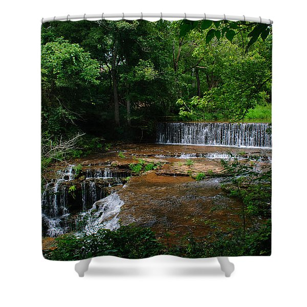 Factory Branch Shower Curtain