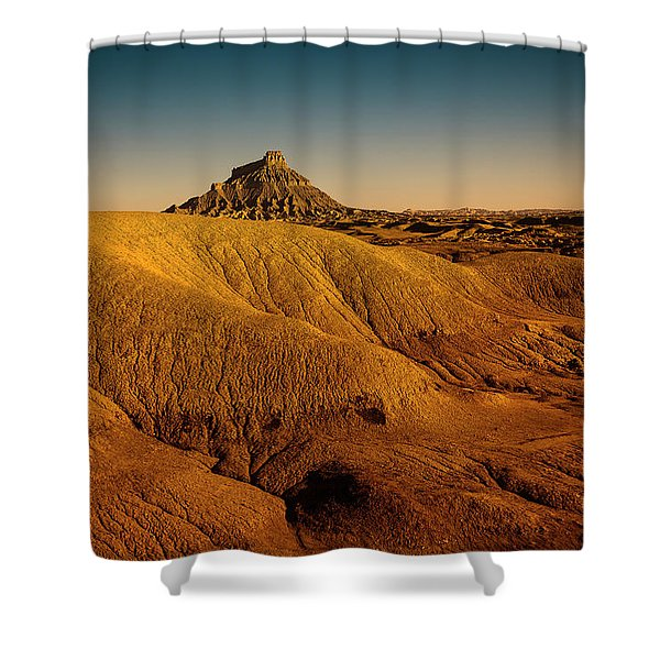 Factory Butte Shower Curtain