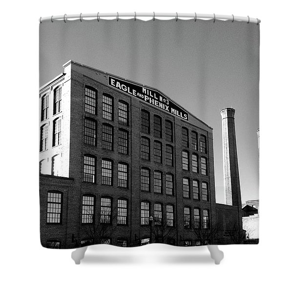 Factory Shower Curtain