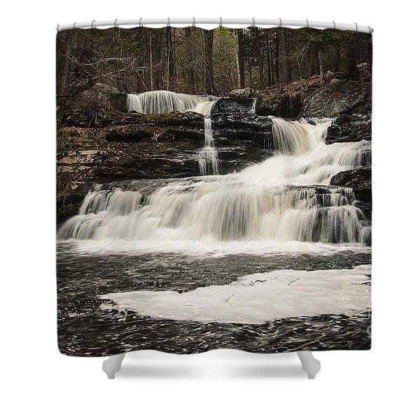 Factory Falls Shower Curtain