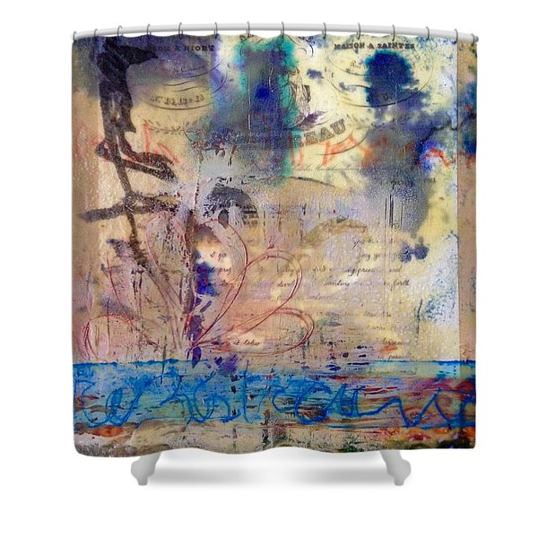 Faded Fantasies 1 Shower Curtain