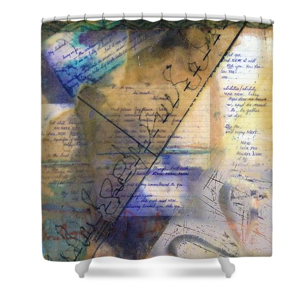 Faded Fantasies 2 Shower Curtain