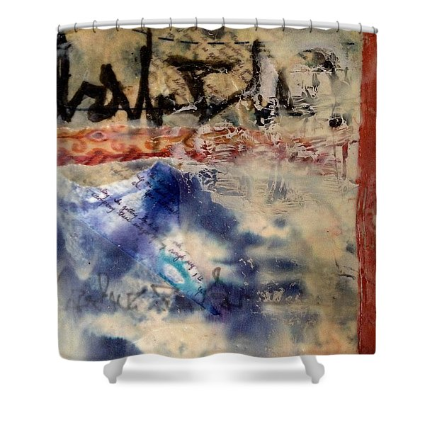 Faded Fantasies 3 Shower Curtain