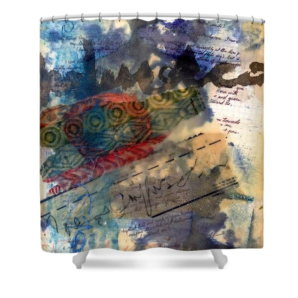 Faded Fantasies 4 Shower Curtain