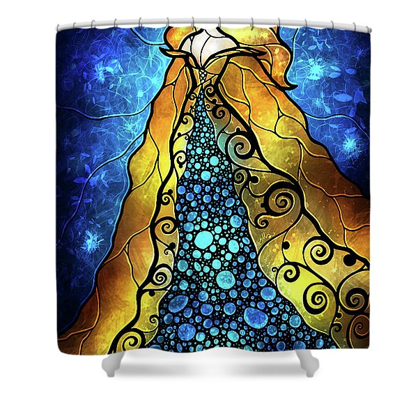 Fair Ophelia Shower Curtain