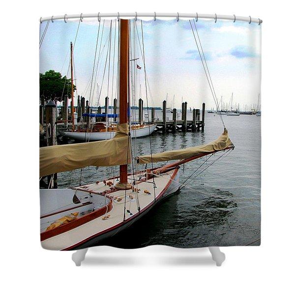 Fair Weather Annapolis  Shower Curtain