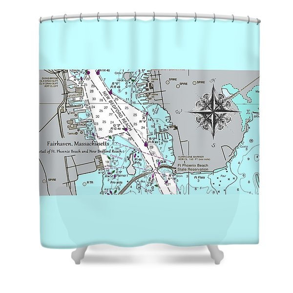 Fairhaven Detail Shower Curtain
