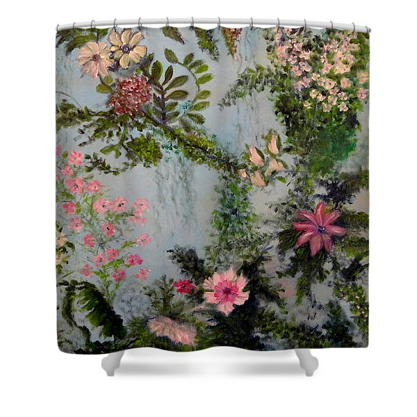 Fairies Garden Shower Curtain