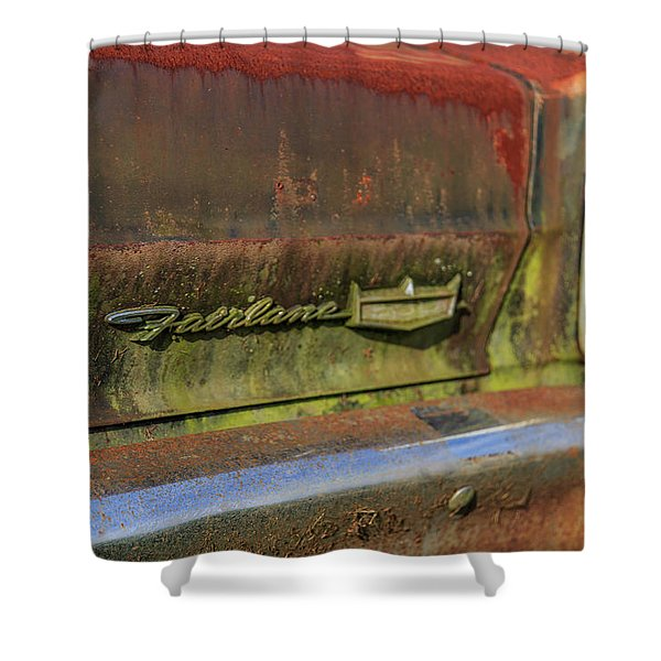 Fairlane Emblem Shower Curtain