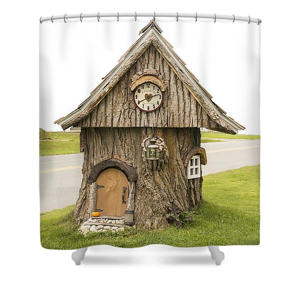 Fairy House In Vermont Shower Curtain