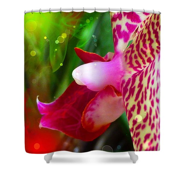 Fairy Orchid Shower Curtain