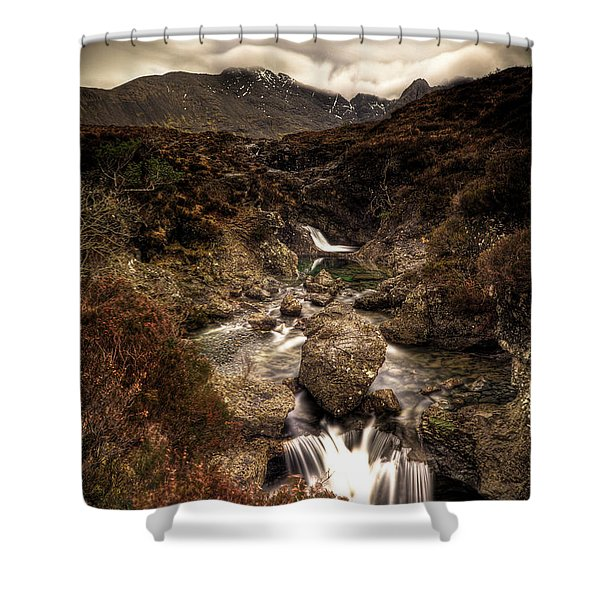 Fairy Pools Shower Curtain
