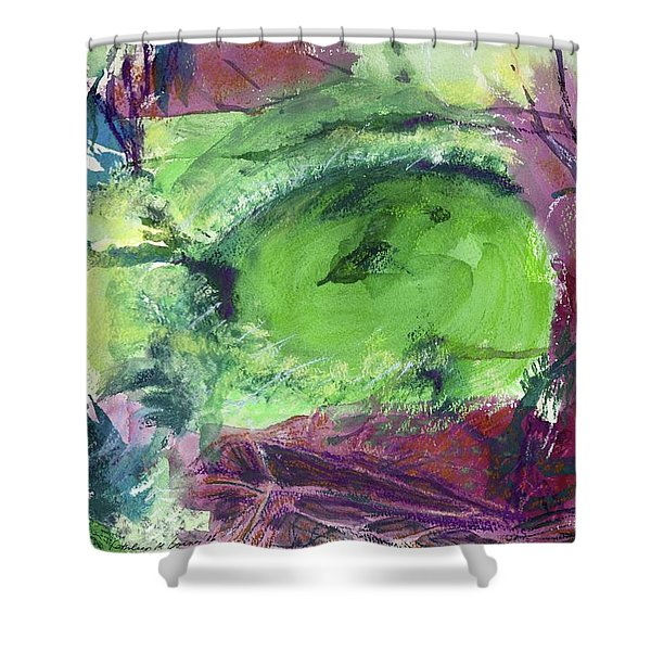 Fairy Ring, Lasso Forest Shower Curtain