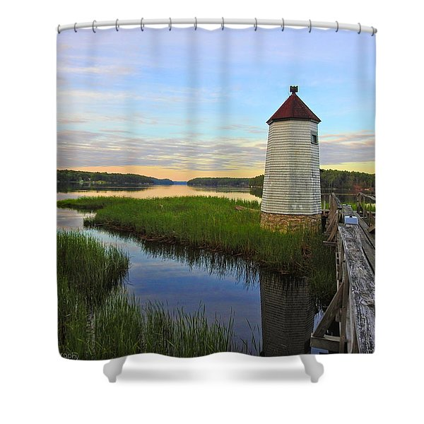 Fairy Tale On The River Shower Curtain