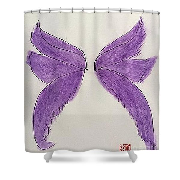 Fairy Wings For Sale Shower Curtain