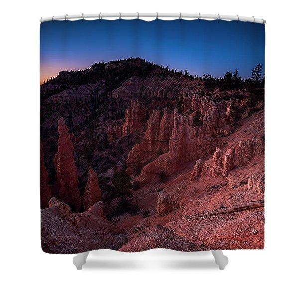 Fairyland Canyon Shower Curtain