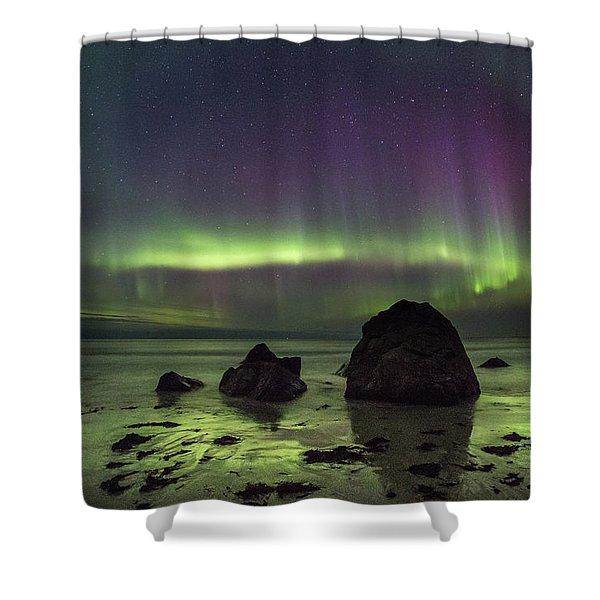 Fairytale Beach Shower Curtain