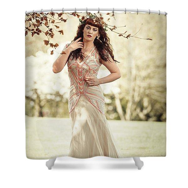 Fairytale Woman Shower Curtain