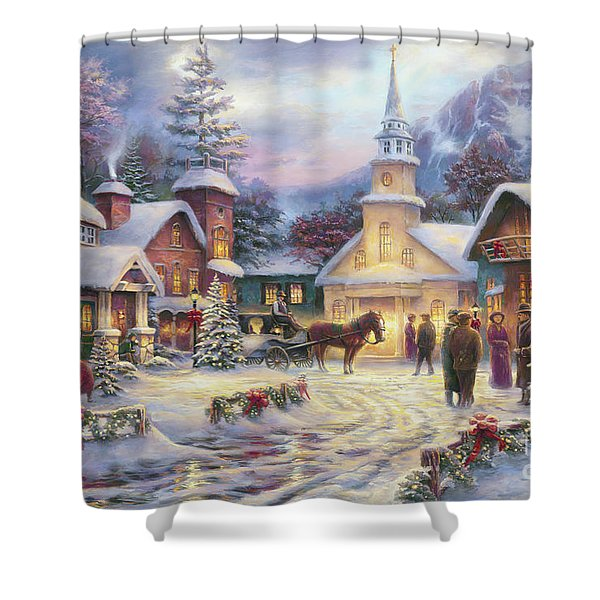 Faith Runs Deep Shower Curtain