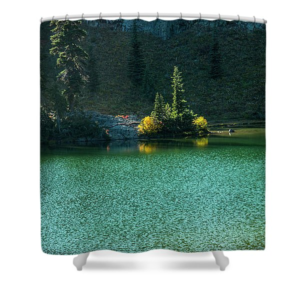 Fall Afternoon On Sheep Lake Shower Curtain