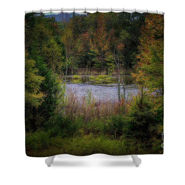 Fall At Fane Creek Shower Curtain