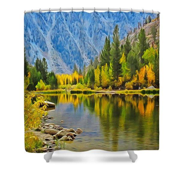 Fall At North Lake Shower Curtain