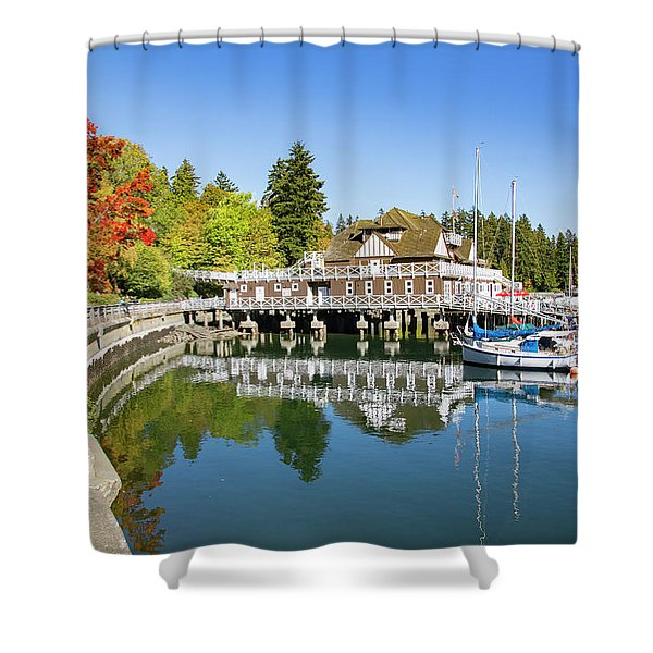 Fall At The Rowing Club In Vancouver Shower Curtain