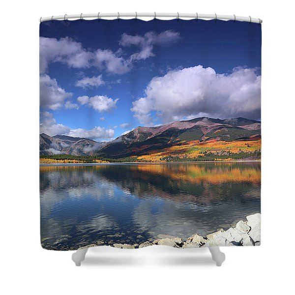 Fall At Twin Lakes Shower Curtain