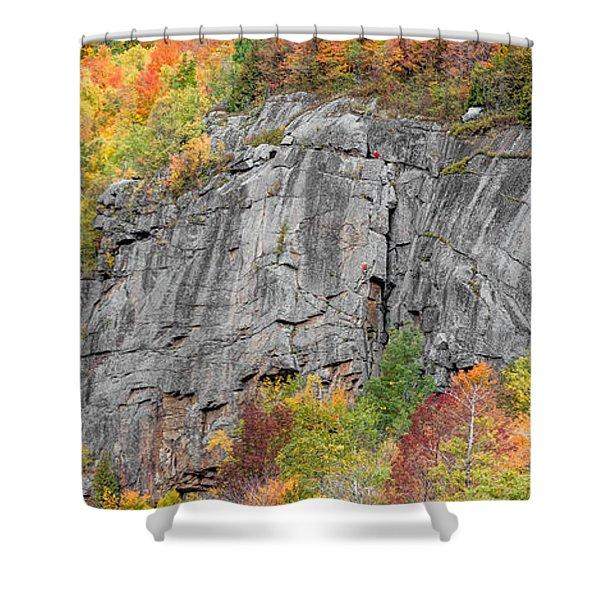 Fall Climbing Shower Curtain
