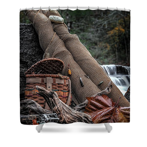 Fall Creation Shower Curtain