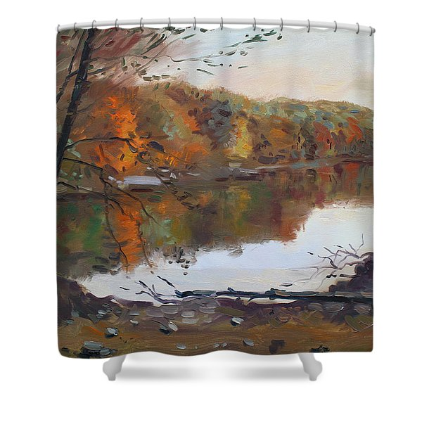 Fall In 7 Lakes Shower Curtain