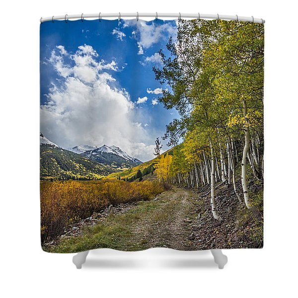 Fall In Colorado Shower Curtain