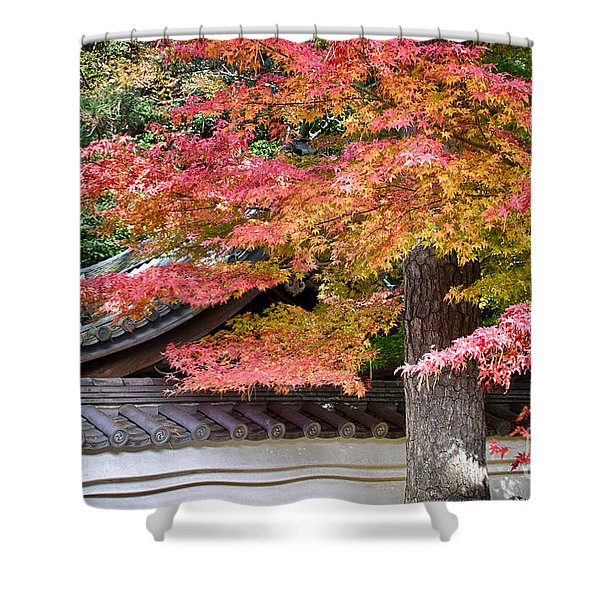 Fall In Japan Shower Curtain