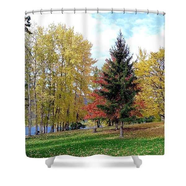 Fall In Kaloya Park 1 Shower Curtain