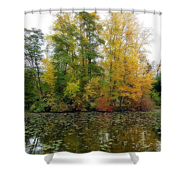 Fall In Kaloya Park 10 Shower Curtain