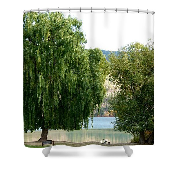 Fall In Kaloya Park 6 Shower Curtain