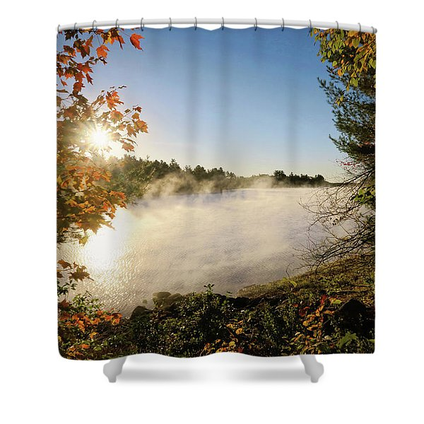Fall In New England Shower Curtain