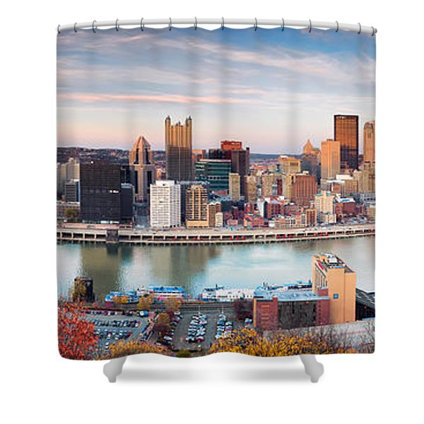 Fall In Pittsburgh  Shower Curtain