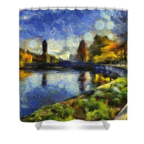 Fall In Riverfront Park Spokane Shower Curtain