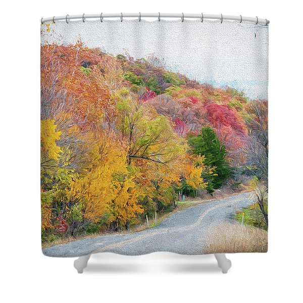 Fall In Southern Oklahoma Shower Curtain