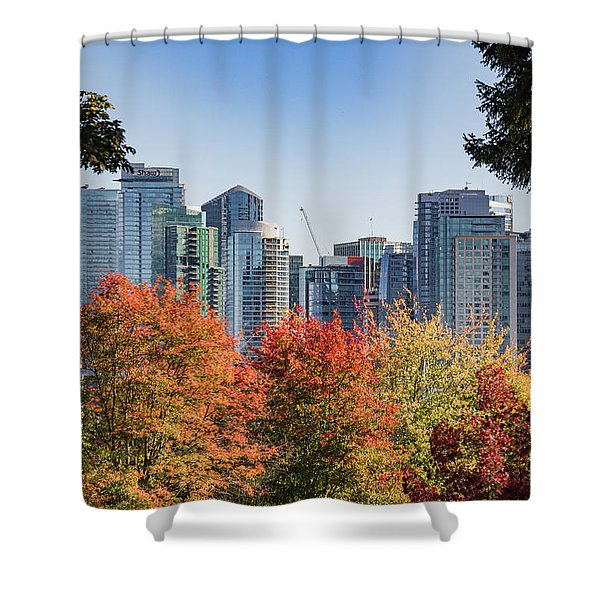 Fall In Vancouver Shower Curtain